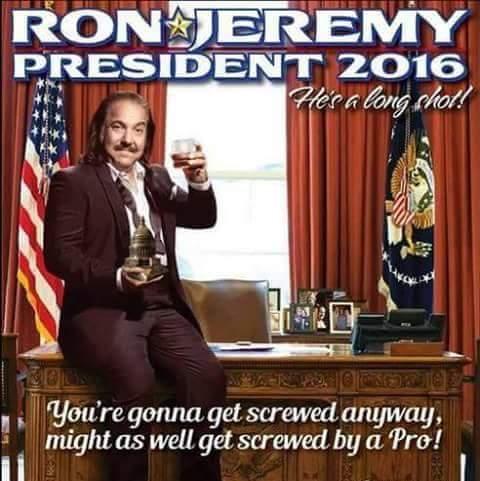 Vote Ron Jeremy